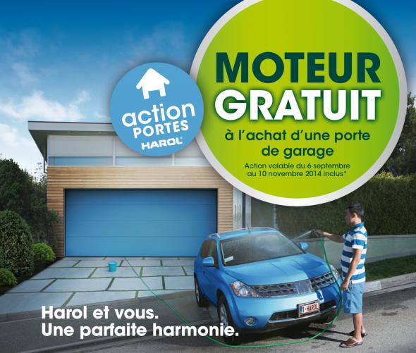 Action harol moteur gratuit pour commande d 39 une porte de - Commande a distance pour porte de garage ...
